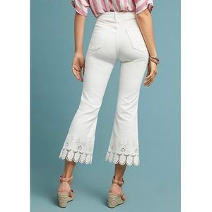🕊anthropologie cropped/flare jeans🕊